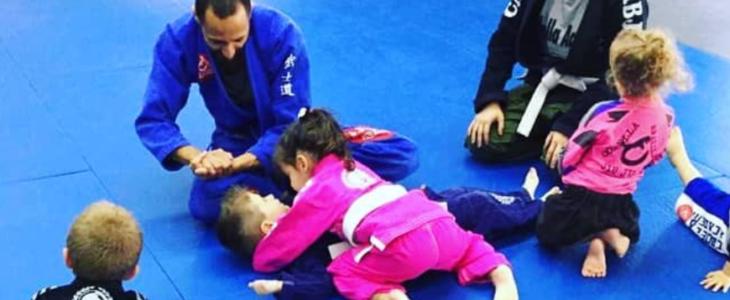 Paws class and Cubs Brazilian Jiu Jitsu